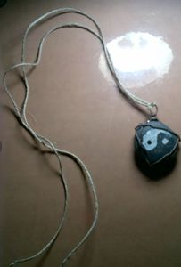 Yin and Yang Stone Necklace