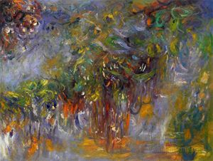 Wisteria (right half) Monet painting