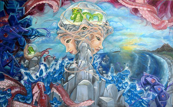 Dragon Dreams Of Treasure - Arise Rawk