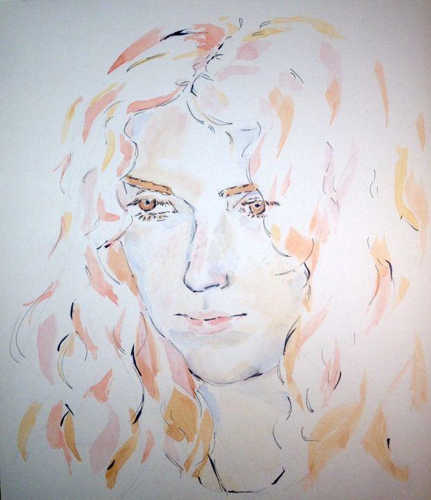 Pink and Orange Flames - Emanuel