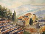 original painting about  landscapes