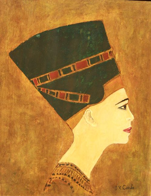 Nefertiti - Jean-Xavier Combe