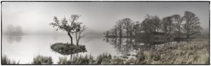 Misty Rydal Water,Lake District