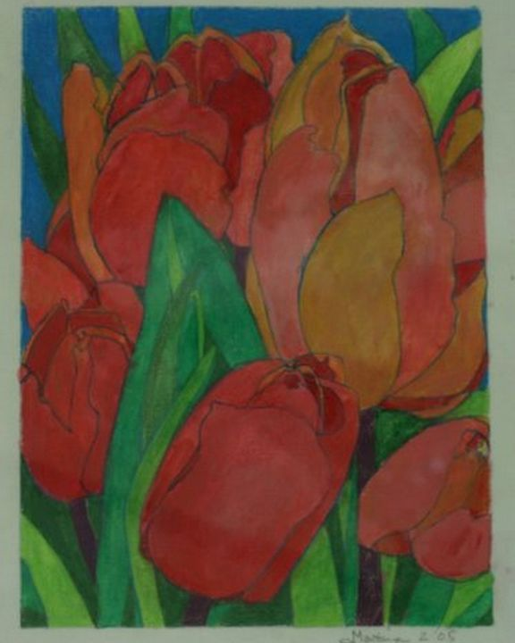 red tulips - Ethereal Organics...diane montana jansson