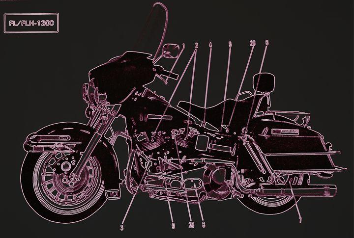 Harley Davidson VI - Ethereal Organics...diane montana jansson