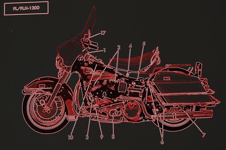 Harley Davidson VIII - Ethereal Organics...diane montana jansson