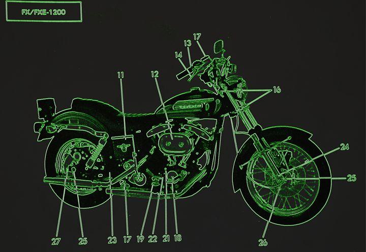 Harley Davidson IX - Ethereal Organics...diane montana jansson