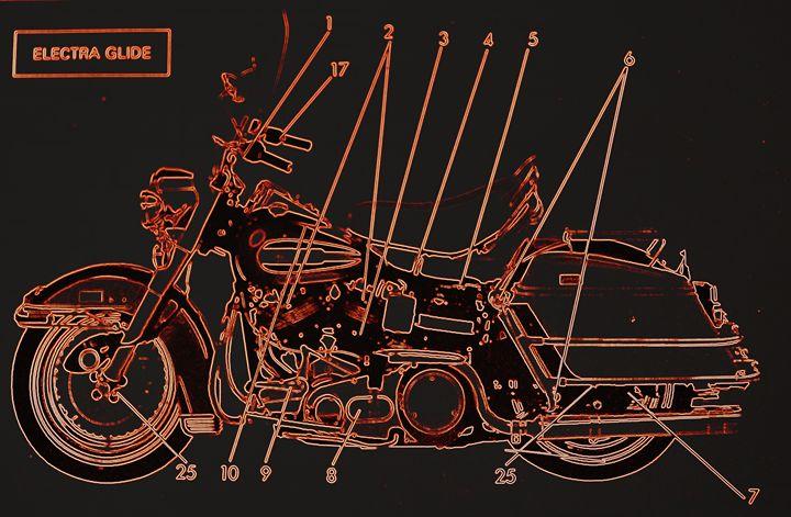 Harley Davidson XI - Ethereal Organics...diane montana jansson