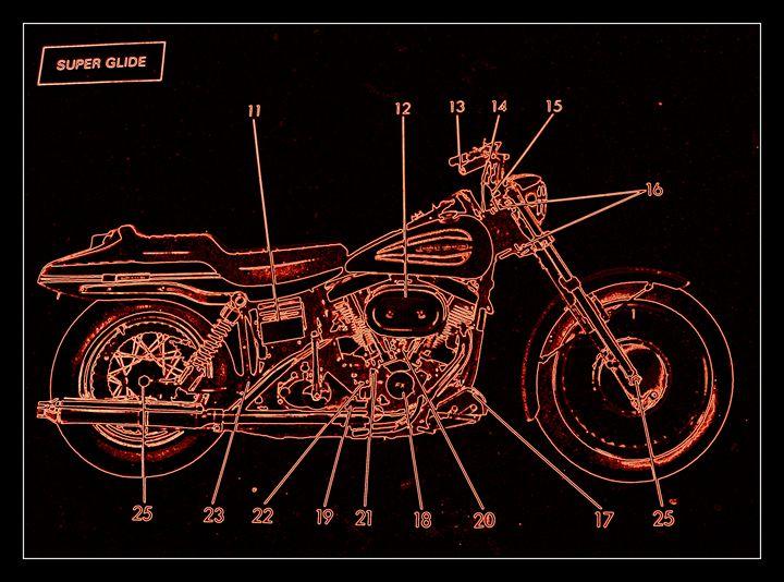 Harley Davidson XII - Ethereal Organics...diane montana jansson