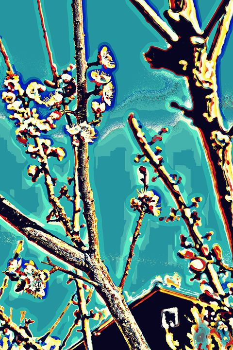 Teal Blooms - Ethereal Organics...diane montana jansson