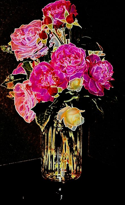 Easter roses 3 - Ethereal Organics...diane montana jansson