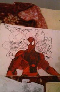 """Spider sense tingling"""