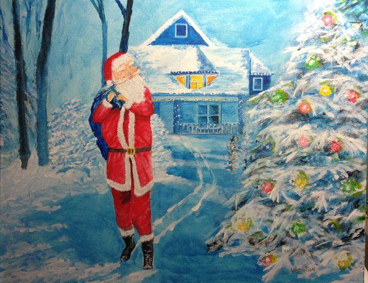 Santa - Christmas Tree - Paul Weston