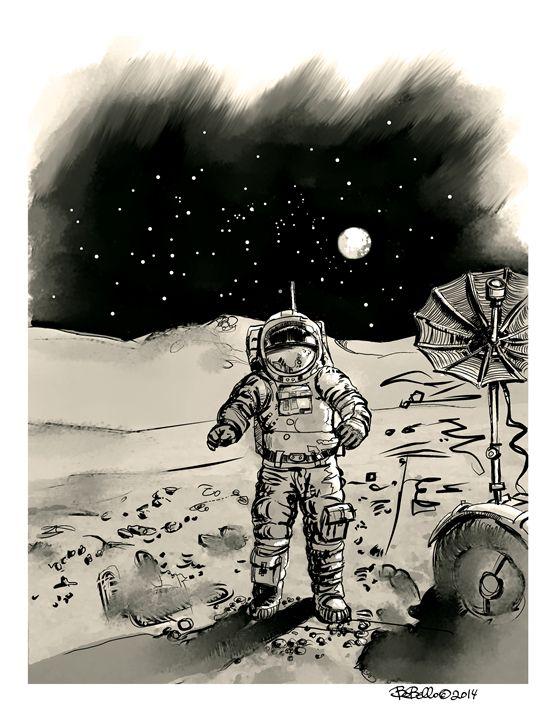 Astronaut Rob Scotch - The Sci-Fi World of Bob Bello