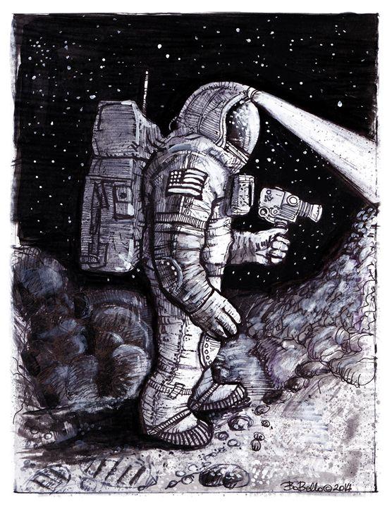 Astronaut Baxter - The Sci-Fi World of Bob Bello