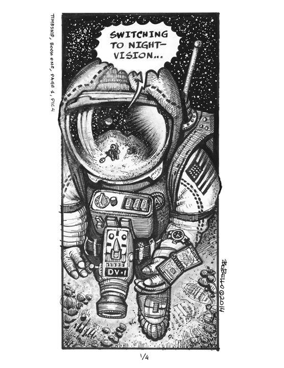 Moonwalk - The Sci-Fi World of Bob Bello