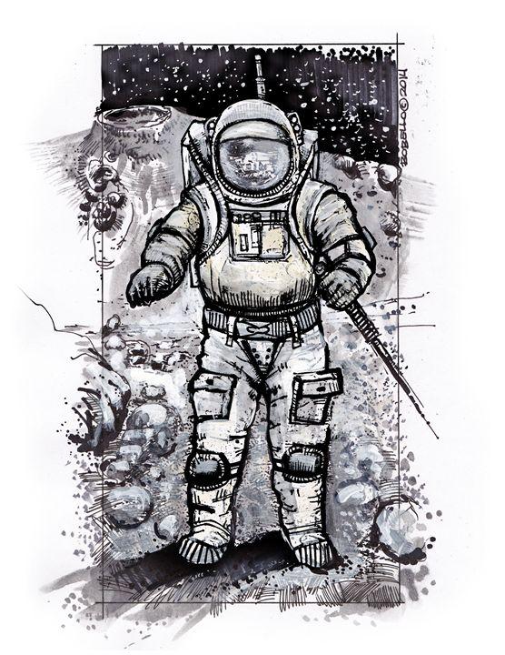 Astronaut Baxter 2 - The Sci-Fi World of Bob Bello