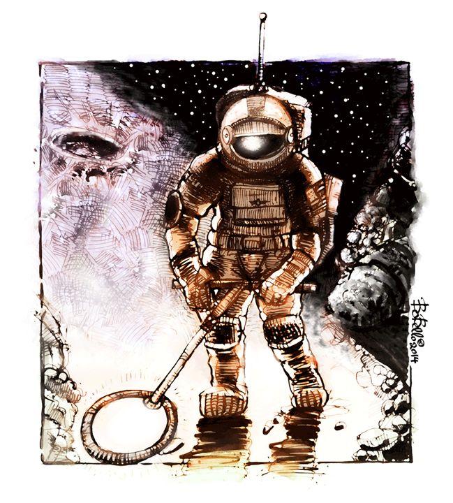 Astronaut Alex Volkov - The Sci-Fi World of Bob Bello