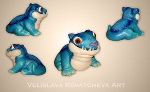 Cute Polymer Clay miniature #1