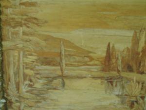 Unique painting Panorama