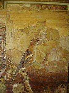 Unique painting of birds