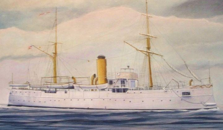U.S.Coast Guard Cutter Itascas - RaVell Fine Art Studio