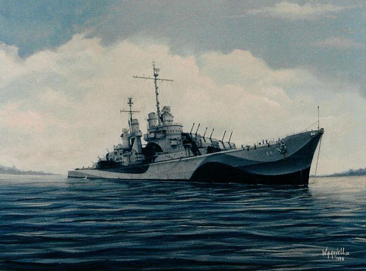 USS San Juan - RaVell Fine Art Studio