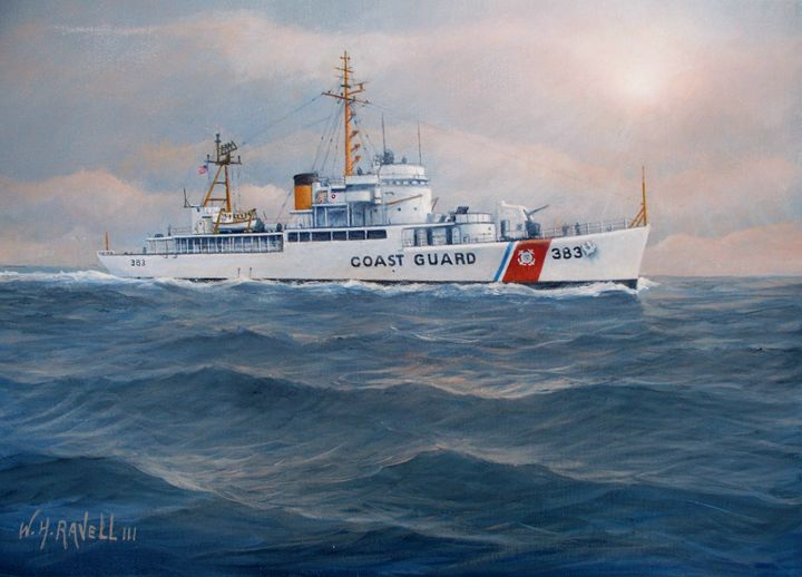 U. S. Coast Guard Cutter Castle Rock - RaVell Fine Art Studio