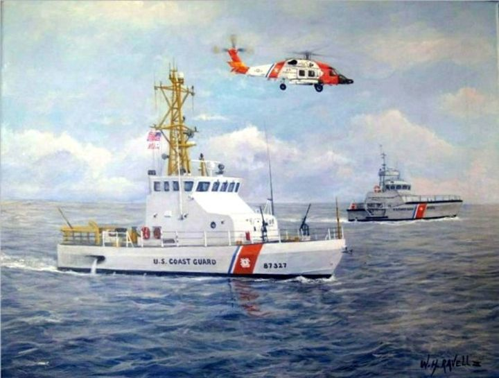The Modern U. S. Coast Guard - RaVell Fine Art Studio