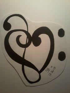 tribal music symbol
