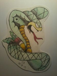 neotraditional snake