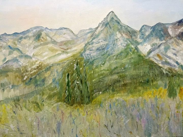 Early Winter in Tatra Mountains - Panuszka's paintings