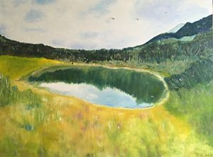 """Pond Litworowy in Tatra Mountains"""