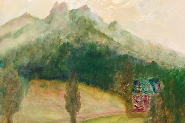 Three Crowns II - Panuszka's paintings