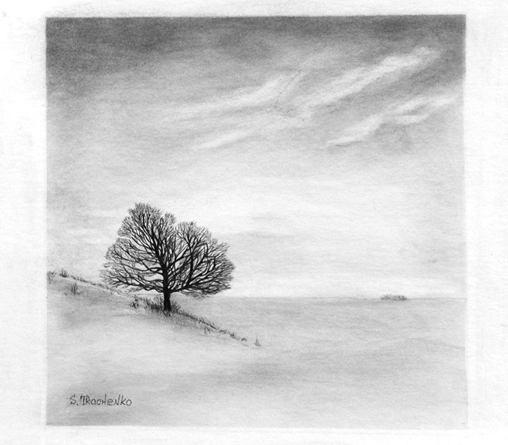 Winter Tree - Sergei Tkachenko