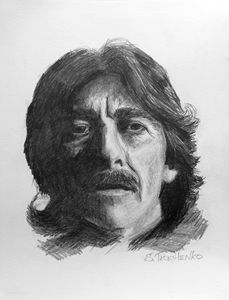 George Harrison, portrait