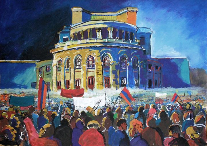 The protest - Armen Baberts 's  Gallery
