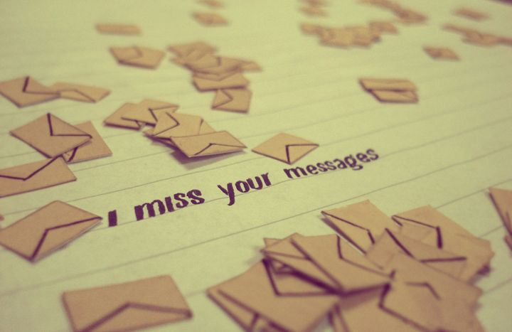 I miss your Message - Arts by sujithrk