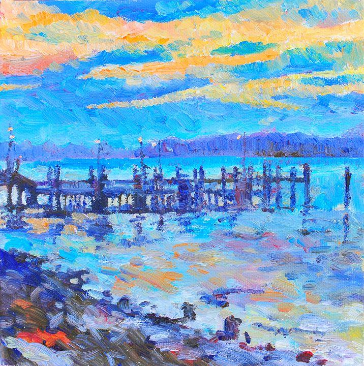 Sunset at Port Macquarie - Yi