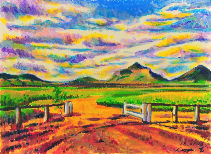 Farm in Queensland - Yi