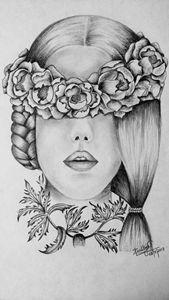 Flowery girl