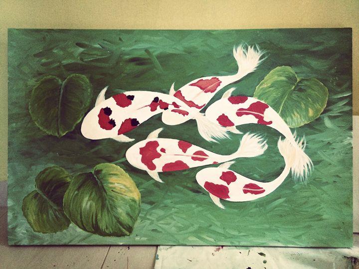 koi fish - AzryArt