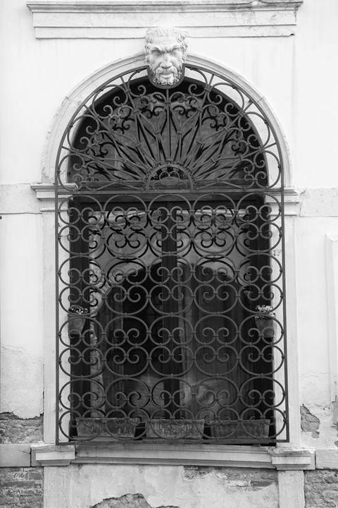 VENETIAN WINDOW by Carla Pivonski - Carla Pivonski® Fine Art Photography