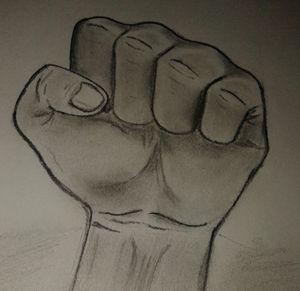 strength in fist