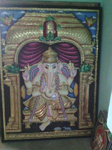 tanjore antique made paintings