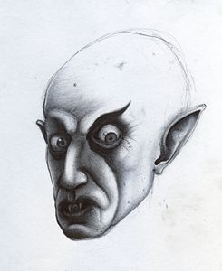 NOSFERATU - INK on PAPER