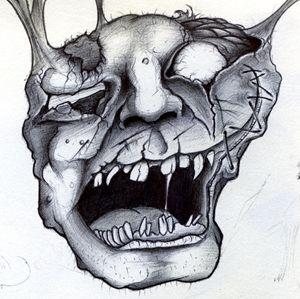 Horror Face 1