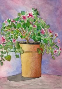 Flowers in water color 1
