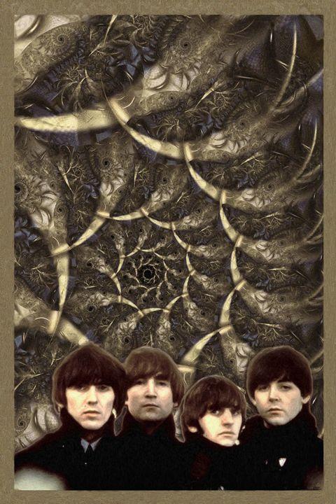 The Beatles 11X17 - TB-1 - Homespun Galleries