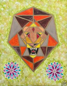Lion Pride - Taylor Lee Arts